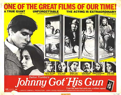 Johnny Got His Gun Movie Poster