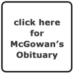 Robert McGowan's Obituary